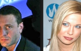 William (Bill) Asher of Vivid (left) and Stefani Morgan (right)