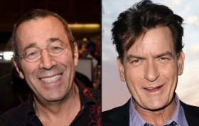 John Stagliano (left) and Charlie Sheen (right) - both claim to have undetectable HIV positive status