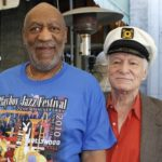 Bill Cosby and Hugh Hefner - time for Hef to stop hiding behind his girls and Johns...