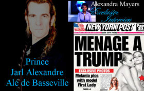 Prince Jarl Alexandre Alé de Basseville - The man who took Melania Trump's erotic, nude photographs